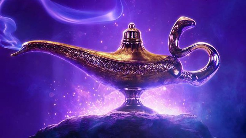 Aladdin comes to life in the first teaser for the live-action remake!