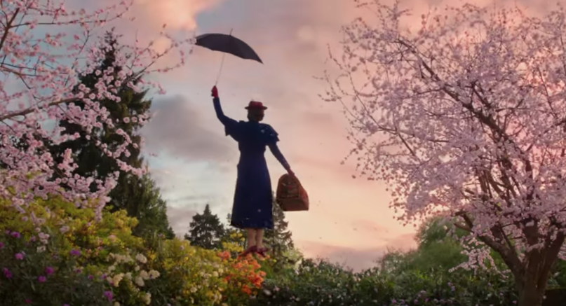 Disney drops its first full trailer for 'Mary Poppins Returns'