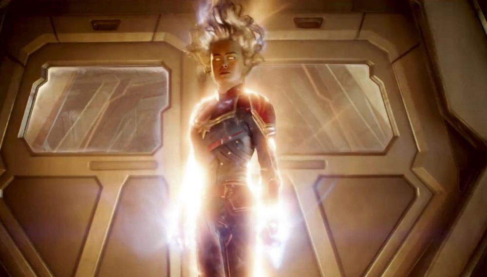 Captain Marvel unleashes her full power in latest trailer!